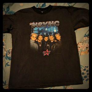 NSYNC black t-shirt from 2000